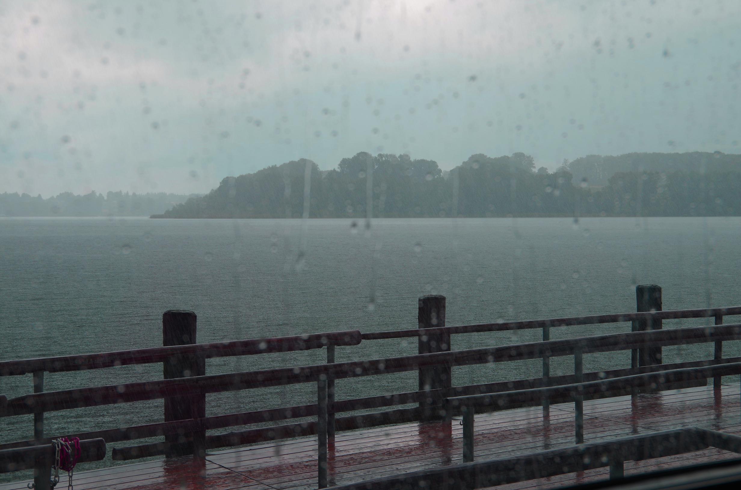 Regen-auf-dem-Chiemsee