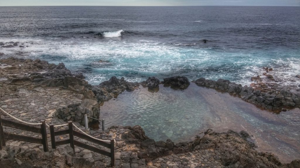 Natürliches Meerwasserbecken