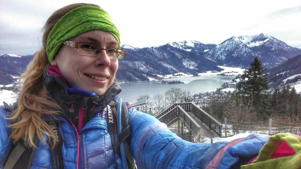 Selfie am Schliersee