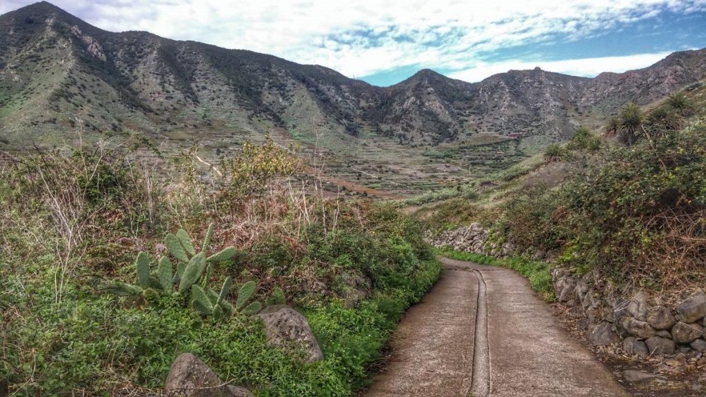 Wanderung durchs Teno-Gebirge nach Mascajpeg